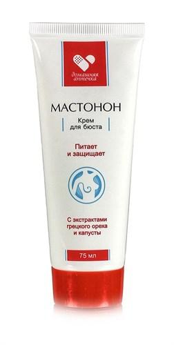 Мастонон крем для бюста с маслом грецкого ореха и экстр. капусты, 75 мл - фото 5609