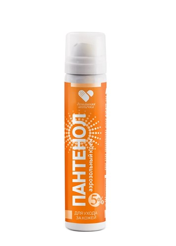 Пантенол спрей для лица и тела при солнечных и термических ожогах, 90 мл 5% - фото 5611