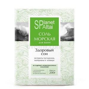 Соль морская Здоровый сон, 200 гр